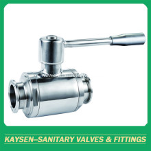 Sanitary manual ball valve
